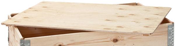 Holzaufsatzrahmen Deckel
