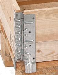 Holzaufsatzrahmen Scharnier